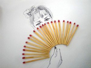 creative 3d illustrations objects household artist fan drawings simple using hand victor nunes created drawing sketches combined line everyday playful