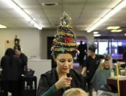 crazy christmas hairstyles
