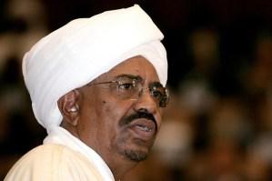 Sudan President Omar Al-Bashir speaks at a press conference (AFP)