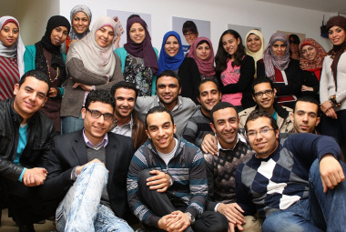 Shahinaz Ahmed, Executive President of Education for Egyptian Employment, announced that his organisation and Souq.com had recently run a special training program for 120 students on internet-based commerce (Photo\DNE)