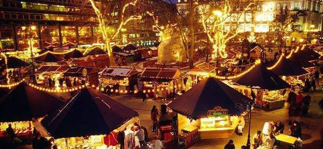 This years Christmas Market in Budapest is now available