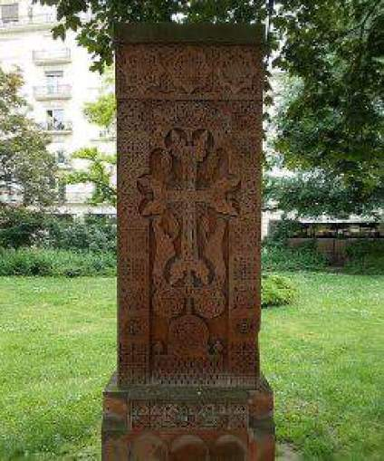 Armenian cross budapest