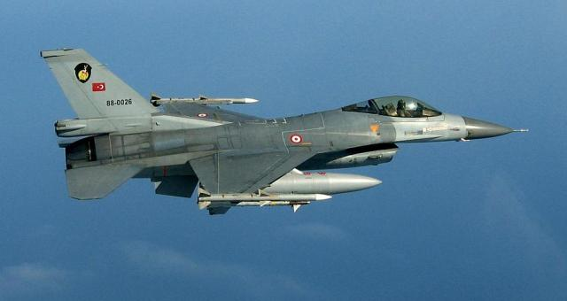 ترکی کا لڑاکا طیارہ شام میں تباہ