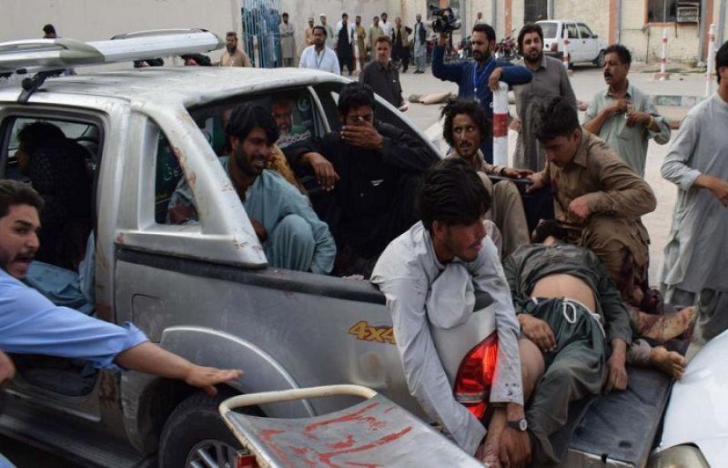 سانحہ مستونگ: نگران وزیر اعظم کا کل یوم سوگ منانے کا اعلان