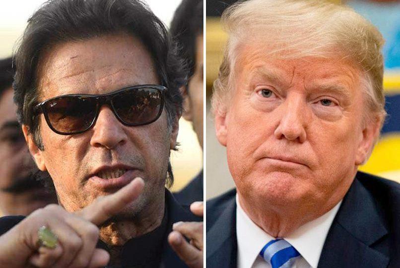 عمران خان اور ڈونلڈ ٹرمپ کے درمیان ٹویٹر پر جنگ شروع