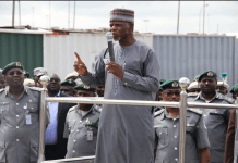Customs boss Hameed Ali