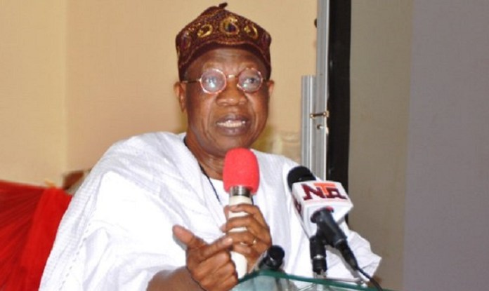 Alh. Lai Mohammed, Minister for Information