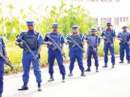 Officers of the NSCDC