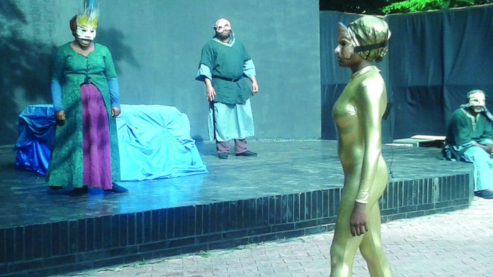 The Only Jealousy of Emer, written by famous Irish writer, William Butler Yeats was performed at the Freedom Park, Lagos