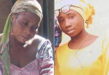 Leah Sharibu and Mother