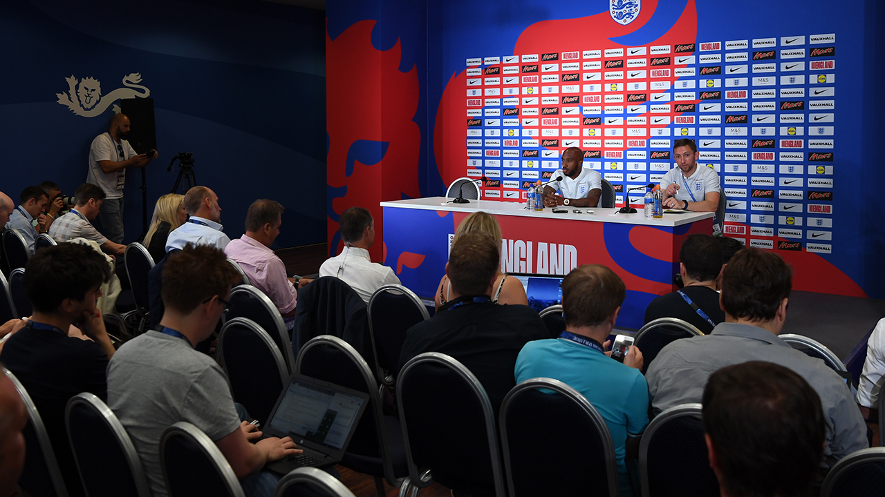 England's Gareth Southgate on Volgograd Some things bigger than football