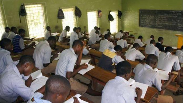 NECO examination in progress