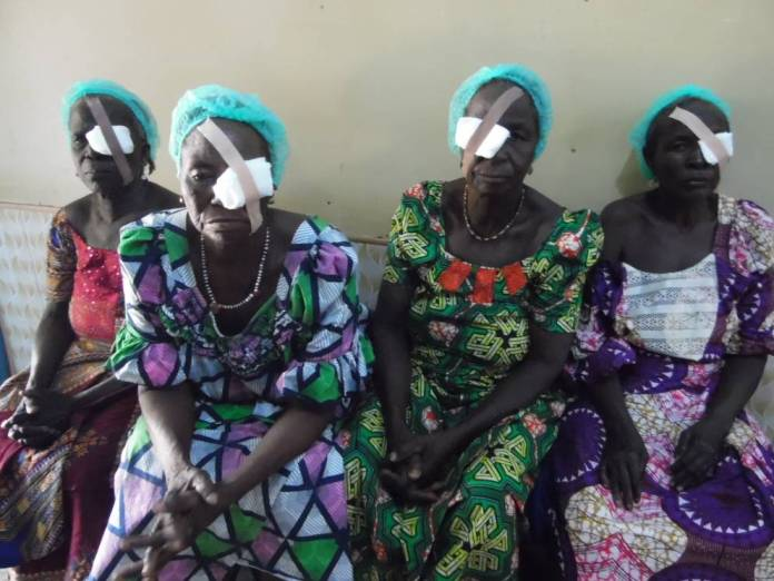 beneficiaries of NAF medical outreach in katsina