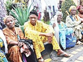 Pensioners in Nigeria