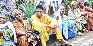 Pensioners in Nigeria