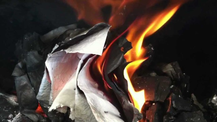 credentials set ablaze