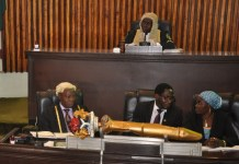 Ogun House of Assembly in session