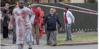 Nigerian Alabi Lateef survived the terrorist attack at the second Christchurch mosque in New Zealand
