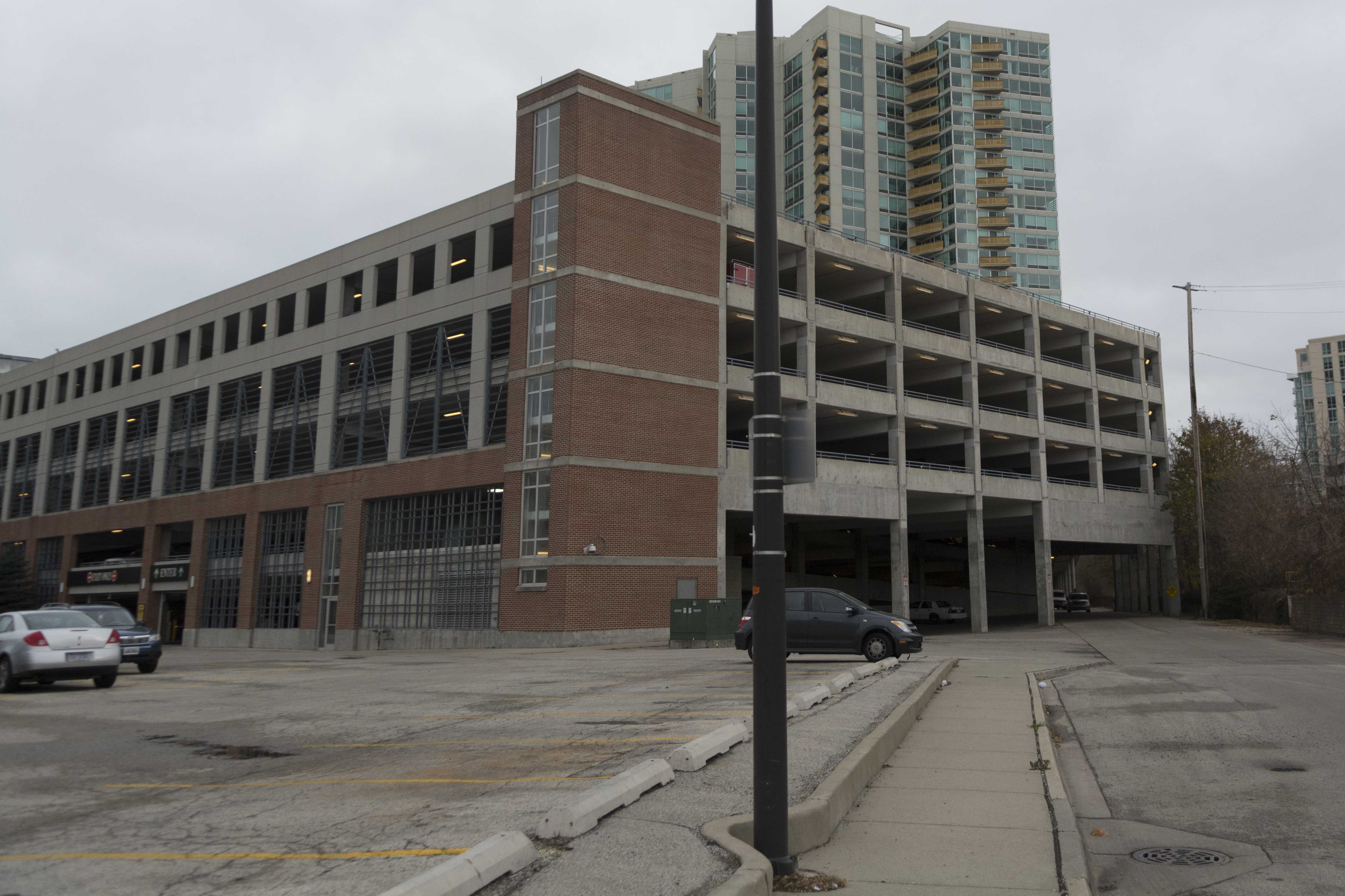 Updated Woman Jumps Off Parking Garage In Downtown Evanston