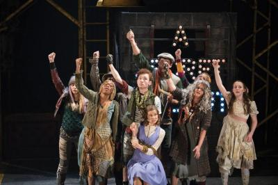 An image of the casts in Urinetown