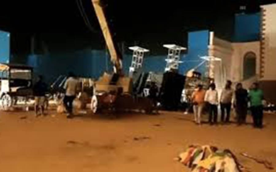 بالی ووڈ کی نئی آنے والی فلم کی شوٹنگ میں خوفناک حادثہ ، تین افراد ہلاک