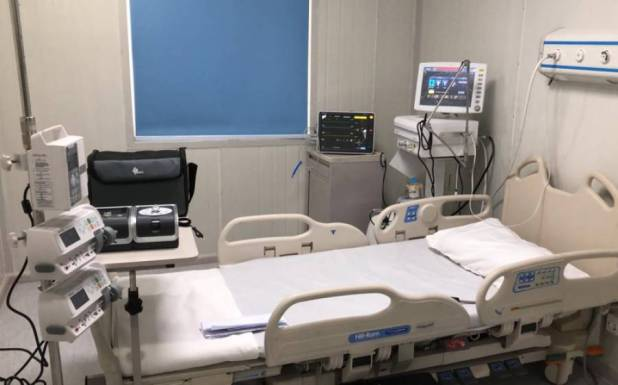 چار ماہ سے آئی سی یو میں موجودکورونا مریض کو ہسپتال کے بیڈ پر ہی سمندر کی سیر کروادی گئی