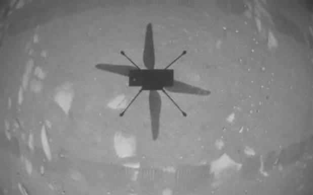 نئی تاریخ رقم، ہیلی کاپٹر کی مریخ کی سرزمین پر پرواز