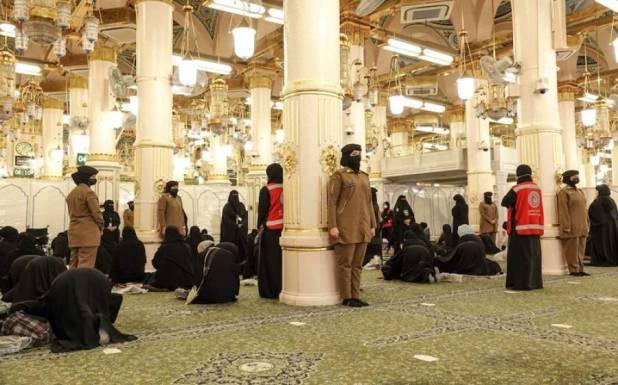 مسجد حرام کے بعد مسجد نبوی ﷺ میں بھی خواتین سیکیورٹی اہلکار تعینات