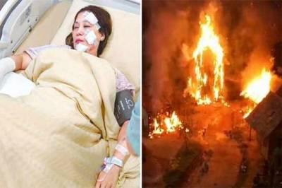 ملائیشیا: فلم کی شوٹنگ کے دوران سیٹ پر آگ بھڑک اٹھی ، 31 فنکار زخمی