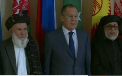 افغان حکومت سے نہیں بلکہ امریکہ سے مذاکرات کریں گے ،طالبان نے ماسکو میں دو ٹوک اعلان کر دیا