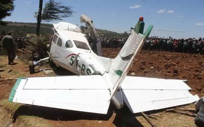 افریقی ملک میں مسافر طیارہ گر کر تباہ
