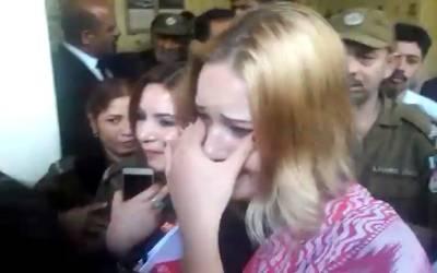 سزا ملنے پر ٹریزا کیسے روتی رہی؟ ویڈیو منظرعام پر آ گئی