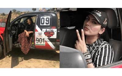 پاکستانی خاتون ڈرائیور جس کے ساتھ ریس لگانے سے ماہر ترین مرد ڈرائیور بھی گھبرائیں