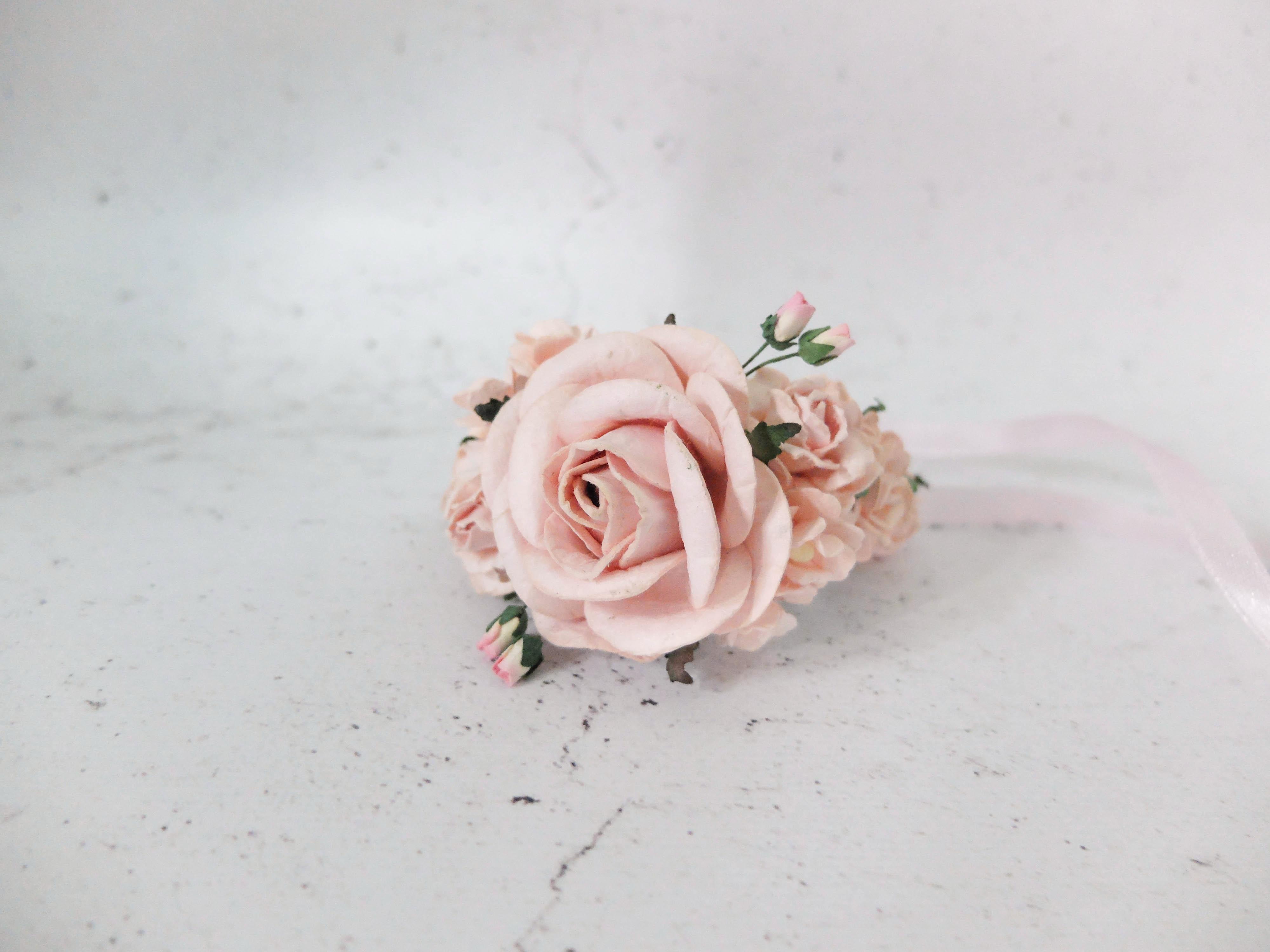 Wedding Flower Wrist Corsage