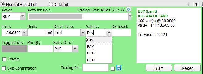 how to buy stocks online using bdo nomura
