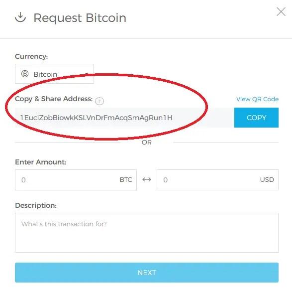 creare wallet coinbase