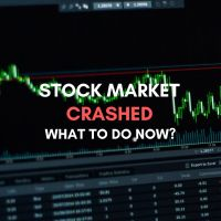 stock market crashed what to do now