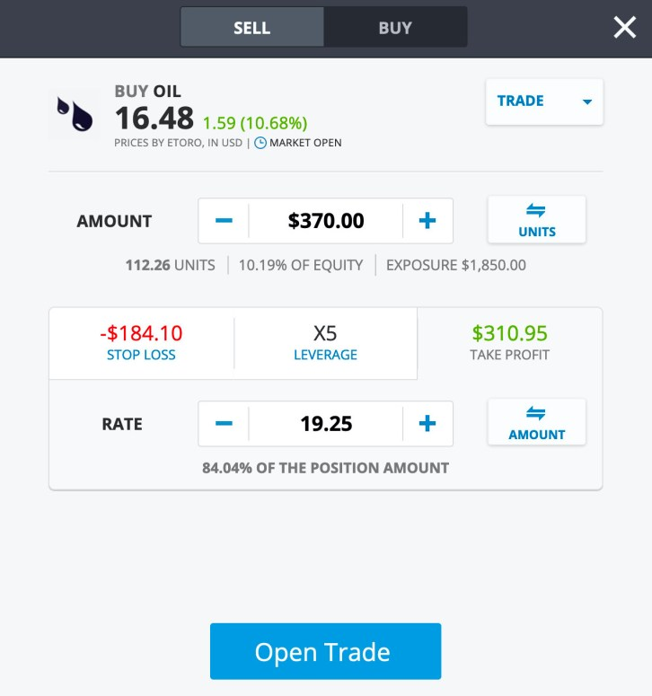 trade invest black gold
