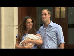 William and Kate Royal Baby (will become king)
