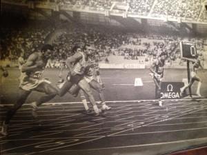 Pavoni finale europei Atene 1982 100m - atleta