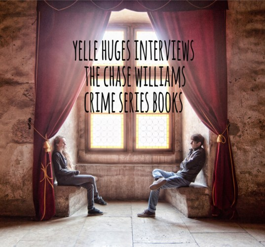 yelle huges, interview, chase williams, crime series books
