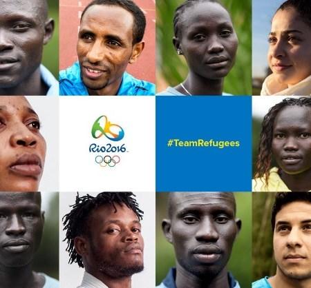 nazionale dei rifugiati rio 2016, olimpiadi