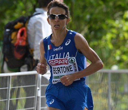 catherine bertone, italia, maratona olimpica