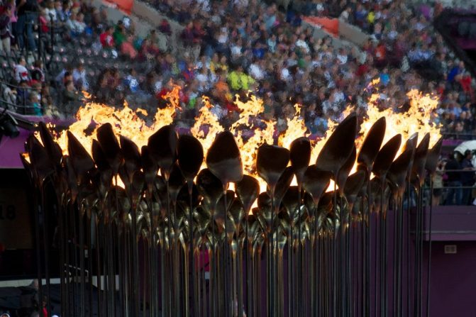 Olympic opening ceremonies - 2012 olympic cauldron