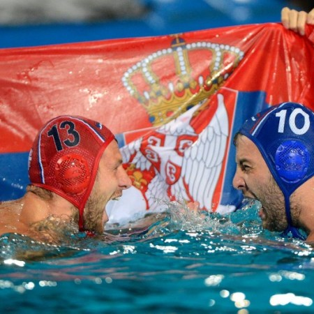 waterpolo olympic tournament, serbia waterpolo