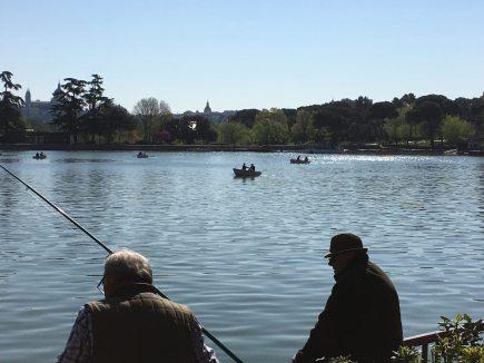 Lago de la Casa de Campo Madrid