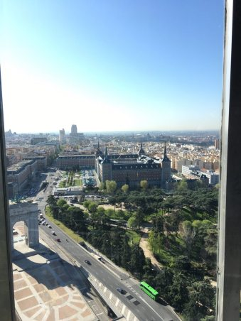 Madrid from Faro de Moncloa