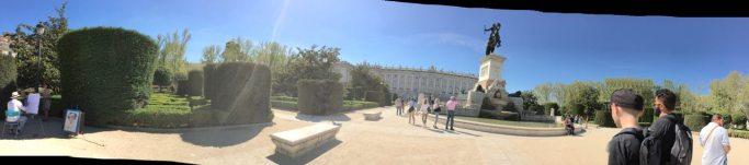 Palacio Real pano