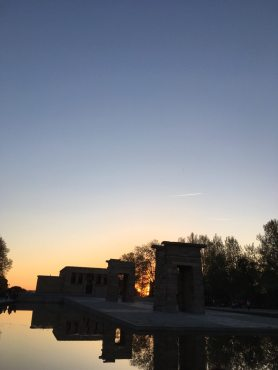 Temple of Debod sunset