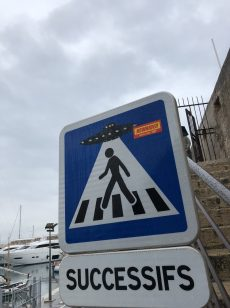 Apparently UFOs have been spotted in Antibes - Antibes Water meetup 22-28.02.2018